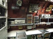 The radio room.