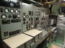 The nuclear missile targeting console.