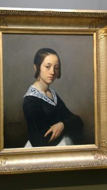 Jean-François Millet, Portrait of Louise-Antoinette Feuardent (1841)