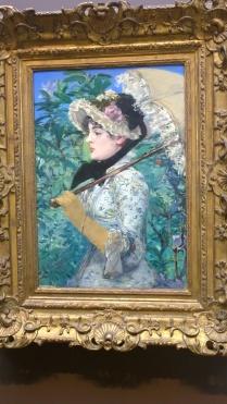 Édouard Manet, Spring (Jeanne Demarsy) (1881)
