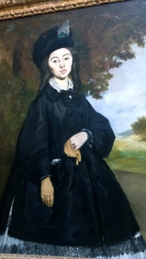 Édouard Manet, Portrait of Madame Brunet (1860s)