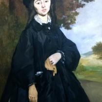 Édouard Manet, Portrait of Madame Brunet (1860s)