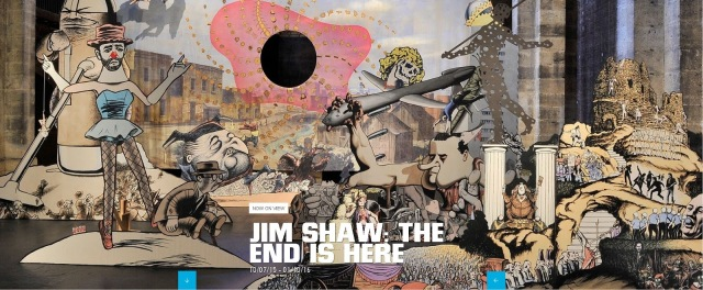 jim shaw end is near new museum exhibition