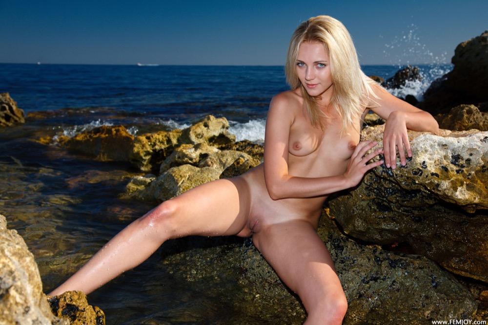 Beautiful naked women enjoying licking pussy like these two hot lesbians