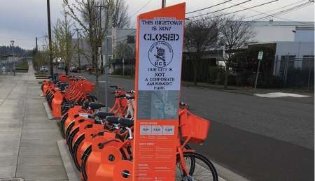 vandal-biketownsign