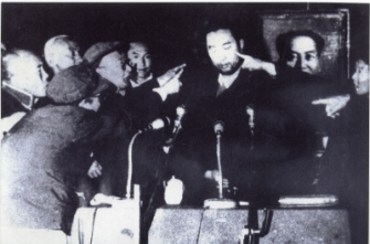 Panchen_Lama_during_the_struggle_(thamzing)_session_1964