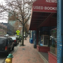 I always look forward to visiting local bookstores, but not this time.