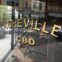 We noticed CBD stores in nearly every city we visited.
