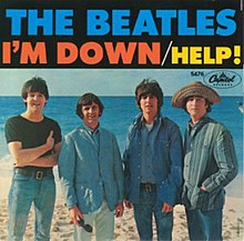 220px-Beatles_I'm_down_single_reversed